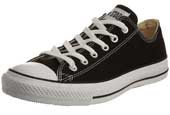 Black Converse Ox Trainers