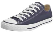 Navy Converse Ox Trainers