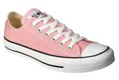 Ladies Pink Converse Chuck Taylor's