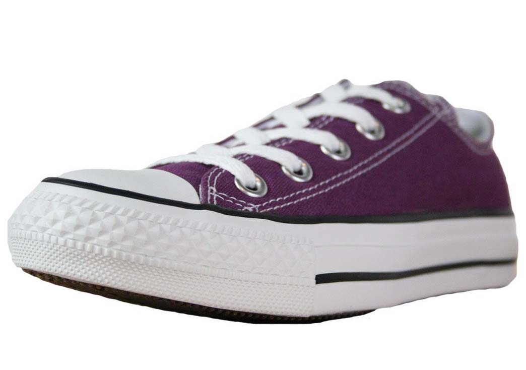 a761f7837b8 Purple Converse All Star Oxford - Unisex Canvas Shoes. Larger Image