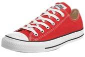 Red Converse All Star Canvas Trainers