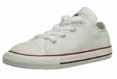 Childrens white converse Oxfords