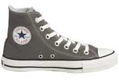 Grey Converse hi tops
