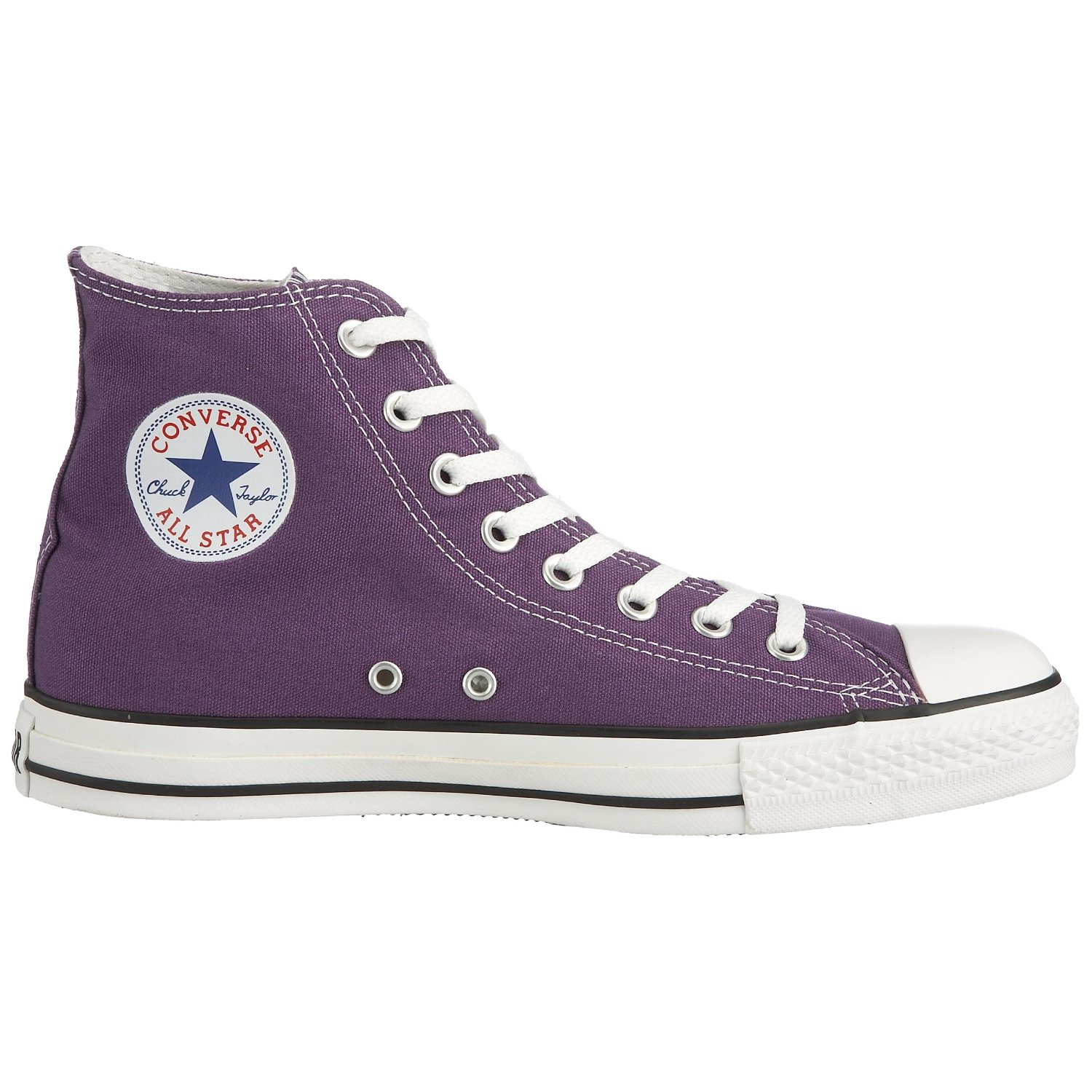 547c5a64dcc2 Purple Converse All Star Hi Top Shoes - Chuck Taylors Converse ...