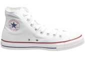 Chuck Taylor Hi tops in white