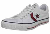 White Converse Ox Trainers