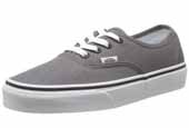 VANS grey canvas shoes