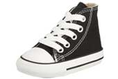 Childrens black converse hi tops