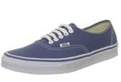 VANS navy canvas shoes